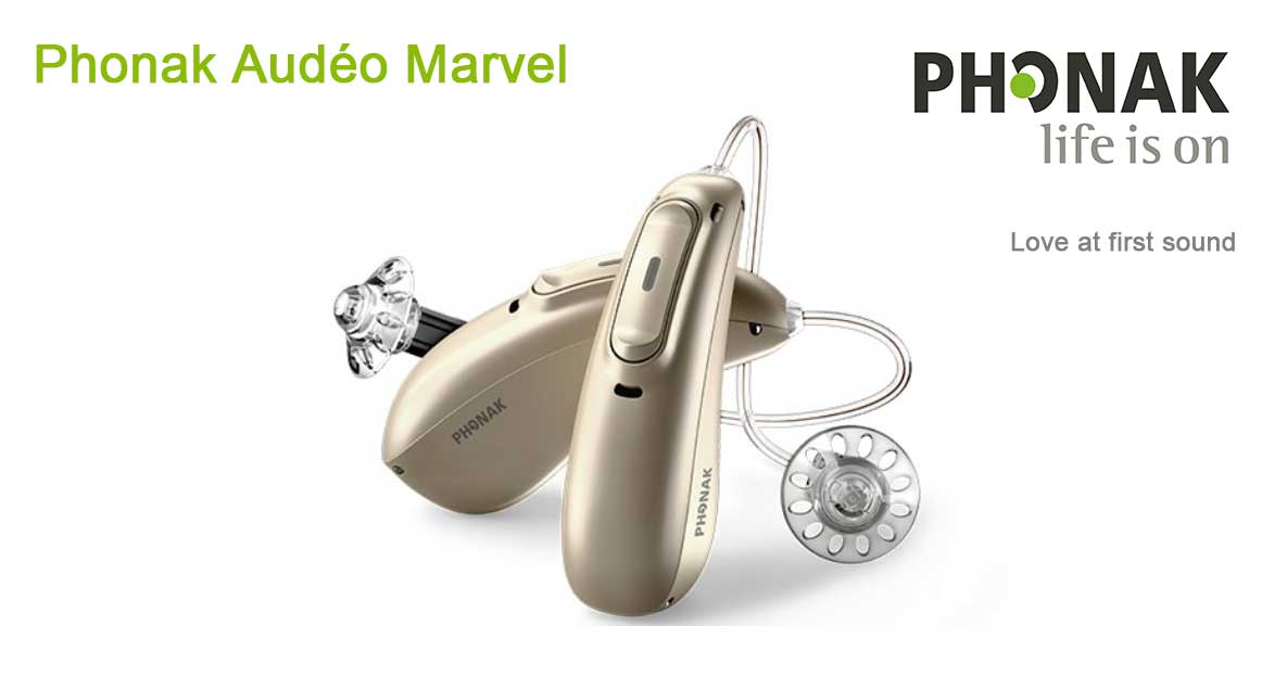 Phonak Marvel hearing aid