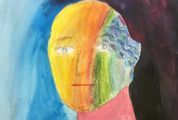 A painting expressing tinnitus from one of our group